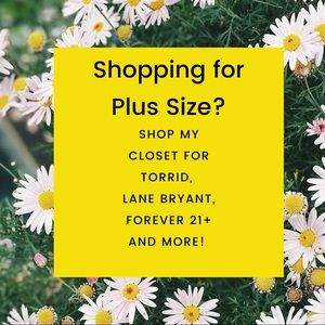 Lots of plus size items!